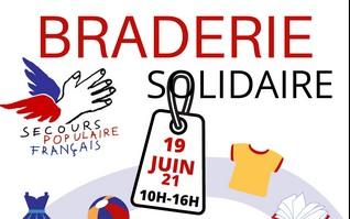 RENNES : Nouvelle braderie solidaire à Maurepas